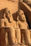 egypt ii pharaohramesses royaltyfri bild