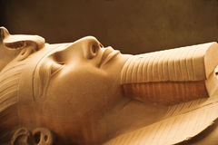 egypt ii rameses Royaltyfri Bild