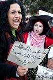egypt jerusalem samlar solidaritet Royaltyfri Fotografi