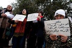egypt jerusalem samlar solidaritet Arkivbilder