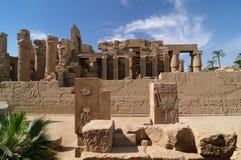 egypt karnak Royaltyfri Bild
