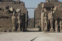 egypt karnak serii świątyni thebes Luxor egiptu Zdjęcia Stock