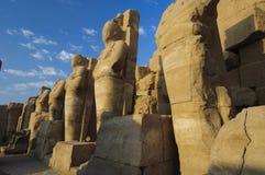 egypt karnakluxor tempel Royaltyfri Fotografi