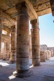 egypt karnakluxor tempel Arkivfoton