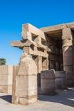 egypt karnakluxor tempel Royaltyfri Foto