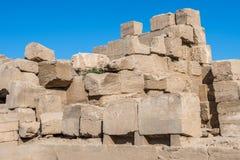 egypt karnakluxor tempel Royaltyfria Foton