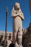 egypt karnaktempel Fotografering för Bildbyråer