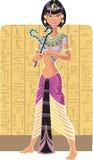 egypt ljus tsarina stock illustrationer