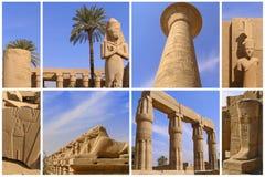 egypt luxor arkivbilder