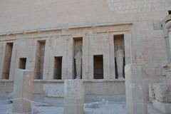 Egypt, Luxor. The ancient civilizations. World attractions. Ancient Egyptian Architecture Royalty Free Stock Image