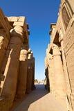 egypt luxor fördärvar tempelet Royaltyfri Fotografi