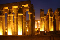 Egypt Luxor temple Royalty Free Stock Photography