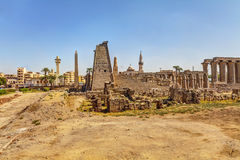 Egypt Luxor temple Stock Photos