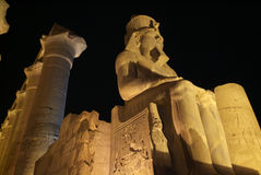 Egypt-Luxor Temple Stock Photography