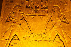 Egypt-Luxor Temple Royalty Free Stock Photo