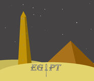 Egypt monuments Royalty Free Stock Photo