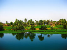 egypt nile flod Arkivbilder
