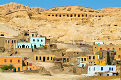 Egypt, Nile Valley, Luxor area, Thebes Stock Image