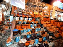 Egypt, North Africa, Hurgada, market Royalty Free Stock Photos