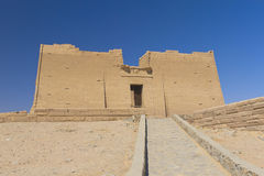 egypt ogólny kalabsha świątyni widok fotografia stock