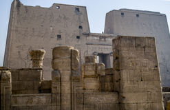 Egypt. Old temple in egypt luxor royalty free stock photo