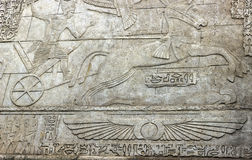 Egypt ornaments background Stock Image