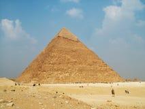 egypt ostrosłup obrazy stock