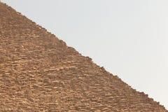 egypt ostrosłup Giza Zdjęcia Royalty Free