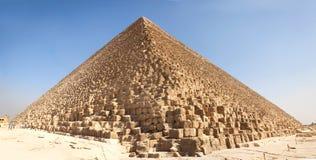 egypt ostrosłupy Giza Fotografia Royalty Free