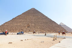 egypt ostrosłupy Giza Obraz Stock