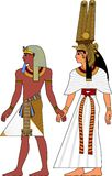 Egypt pair. Vector illustration of ancient Egypt pair vector illustration