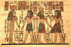 Egypt Papyrus Royalty Free Stock Images