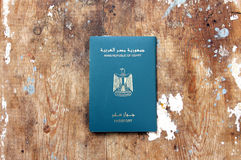 Egypt passport Stock Image