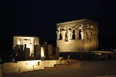 egypt philaetempel royaltyfri fotografi