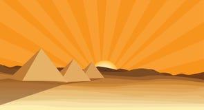 Egypt piramid Stock Photography