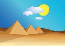 Egypt piramid Royalty Free Stock Photography