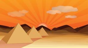 Egypt piramid Royalty Free Stock Images
