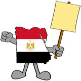 Egypt protest Royalty Free Stock Image