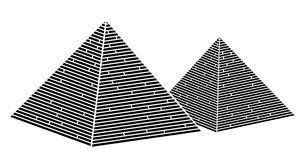 Egypt pyramid stock illustration