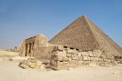 egypt pyramid Arkivfoton