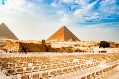 egypt pyramid Arkivbilder