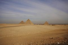 egypt pyramider Royaltyfri Bild