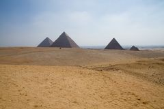 Egypt pyramids. In cairo egypt Stock Image