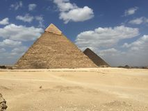 Egypt pyramids Royalty Free Stock Photo