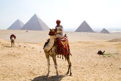 Egypt pyramids. In cairo in africa Royalty Free Stock Image