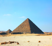 Egypt pyramids in Giza Royalty Free Stock Images