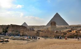 Egypt Queen Pyramids, Cairo Royalty Free Stock Image