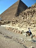 Egypt Queen Pyramids, Cairo Stock Images