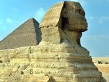 Egypt Queen Pyramids, Cairo Stock Photo