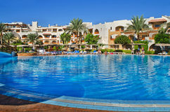 Egypt, Red Sea  Landscaping  Sharm el-Sheikh Royalty Free Stock Photography